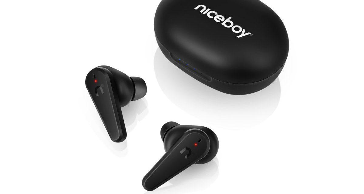 Soutěž o sportovní sluchátka NiceBoy HIVE Pins 2 ANC